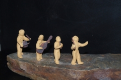 Escultura: charanga musical