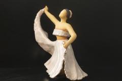 Escultura: Bailarina latinoamericana