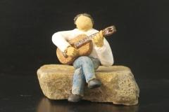 Escultura: Guitarrista