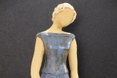 Escultura: mujer