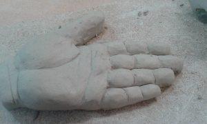 Trabajo de la palma